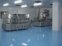 Наливной пол на производстве