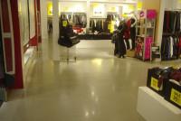 Наливной пол в магазине