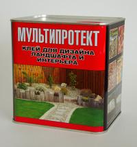 Полиуретановый клей «МультиПротект-ПУ» для дизайна ландшафта и интерьера